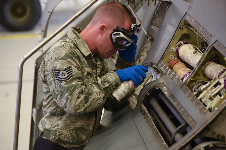 More than a dozen 926th maintainers performed their annual training working side-by-side 301st maintainers in Fort Worth to hone their aircraft maintenance skills and increase readiness.