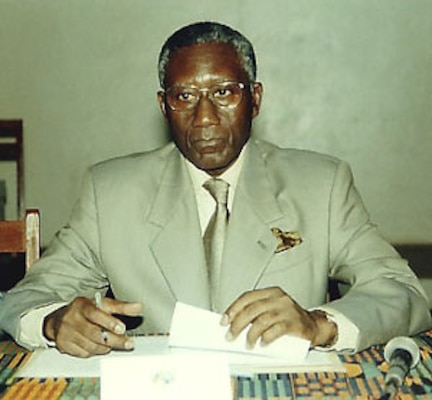 This photograph is the official NDU Photo of General Cisse