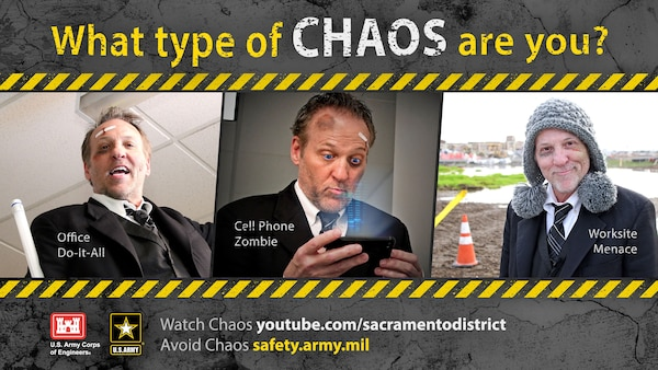 Safety Chaos Poster