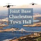 Joint Base Charleston hosted four town halls from March 26-28 and four additional town halls April 26-27 to inform service members and residents about changes affecting the installation as well as to create a forum to ask questions and give feedback directly to base leadership.
