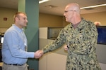 Distribution's Marshall presented commander's coin