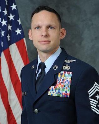 Chief Master Sergeant Ian D. Eishen is the Command Chief Master Sergeant for the 412th Test Wing, Edwards Air Force Base, California. He is the principle advisor to the commander on matters concerning readiness, training, education, and resiliency of the wing's 11,000 military, civilian, contractor personnel and their families on the second largest base in the U.S. Air Force.
