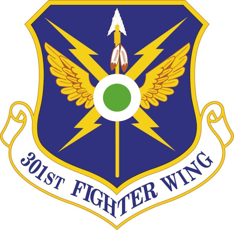301st Fighter Wing Shield