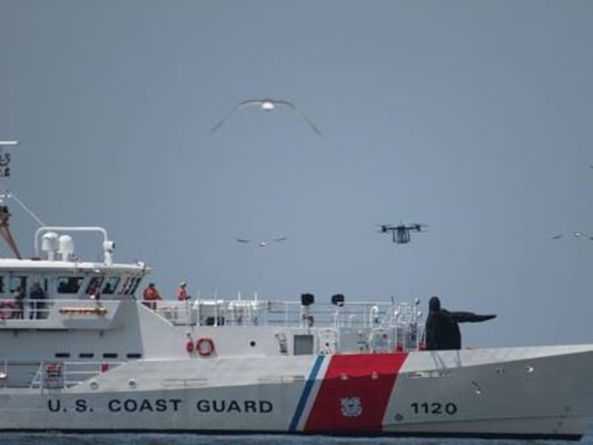 DLA Troop Support, NJIT/NJII conduct drone research test flights in Cape May
