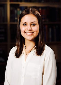 Natalie Koons interned at the U.S. Army Institute of Surgical Research at Joint Base San Antonio-Fort Sam Houston in the summer of 2017 and returned to USAISR as a research fellow from July 2018 to May 2019. Koons, who was a ballet dancer in college, is going to medical school at the University of New England College of Osteopathic Medicine in Maine, where she is working towards her doctorate in osteopathic medicine.