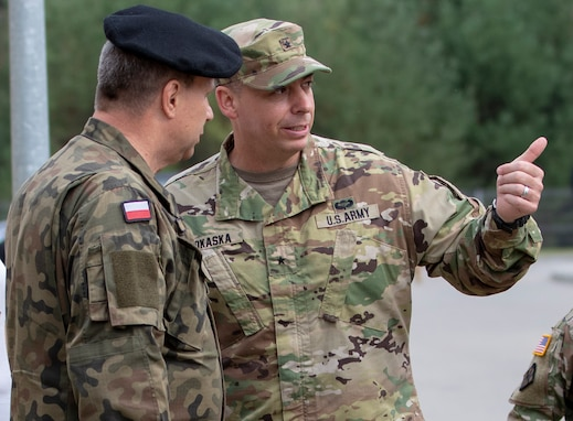 U.S. Reserve Soldiers engineer bonds with Polish forces during Resolute Castle 2019