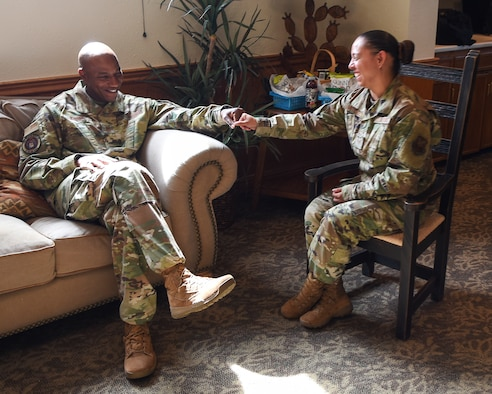 CMSAF visits Dyess, impacts Airman's life