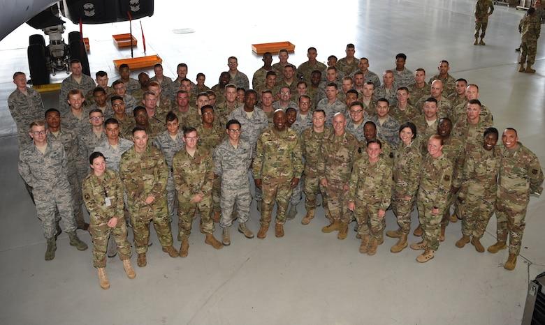 CMSAF visits Dyess, inspires Airmen