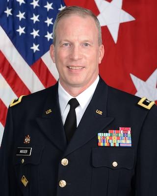 Maj. Gen. Greg Mosser, 377th Theater Sustainment Command, Commanding General