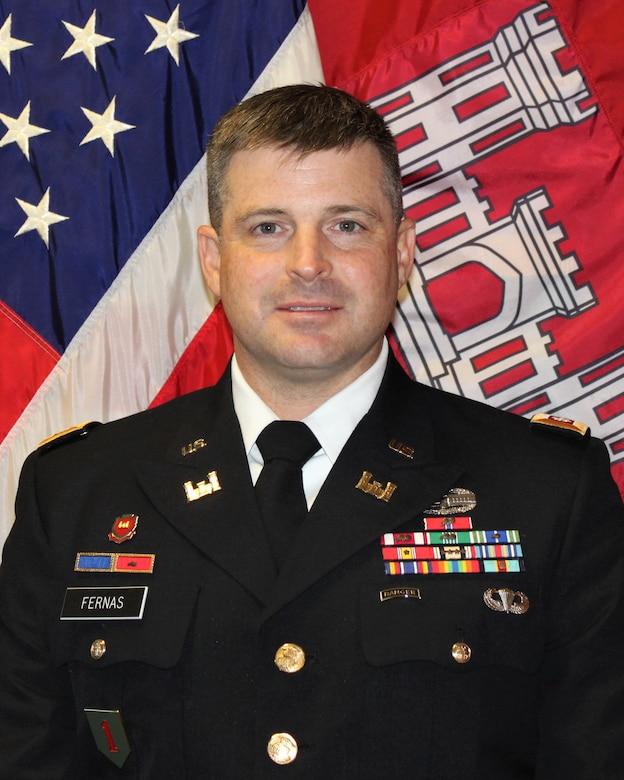 Lt. Col. John M. Fernas - Deputy District Commander of the Rock Island District