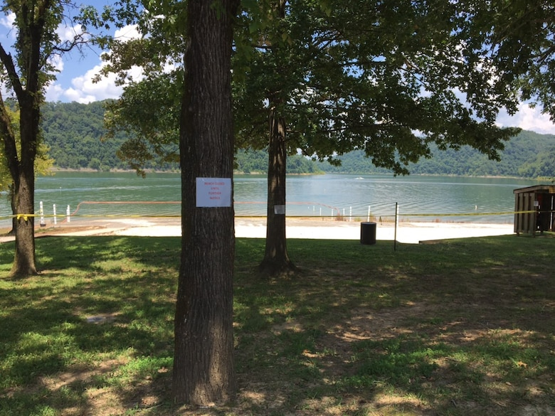 The U.S. Army Corps of Engineers Nashville District announces the immediate closure of Ragland Bottom Day Use Beach at Center Hill Lake in Smithville, Tenn., due to high bacteria levels in the water. The area is still open for picnicking and boat launching. No other beaches at Center Hill Lake are affected.