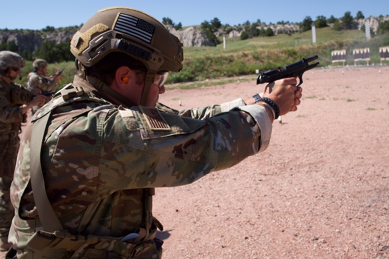 212th Rescue Squadron Combat Arms instructor competes to improve