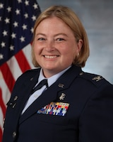 Col. Mary Stewart, 59th Medical Support Group commander, official photo