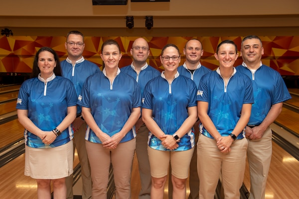 Picture of the 2019 Armed Forces Bowling Championship Participants