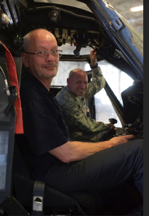 International Maritime Rescue Federation Chairman Captain Udo Helge Fox, visited the 920th Rescue Wing, at Patrick Air Force Base, Florida, June12, 2019. He came to the know the wing after awarding wing Airmen with the German Maritime Search and Rescue Service the Medal of Honor on Ribbon for Rescue Missions at Sea in Gold in a special ceremony held in Berlin, Germany Jan. 26, 2018, at the German Martime Museum.  The wing was honored for its rescue of two German citizens, a father and son, whose vessel caught fire approximately 500 nautical miles off the east coast of Cape Canaveral, Florida, July 7, 2017.  Udo is a Master Mariner and has been Executive Director of the German Maritime SAR Service (DGzRS) since 2001. He has personally made a huge contribution to improving maritime SAR around the globe, working on behalf of the German Government, the IMRF, the International Maritime Organization (IMO) and the European Union. Earlier this year, Udo was awarded the Order of Merit of the Federal Republic of Germany in recognition of his work. (U.S. Air Force photo Tech. Sgt. Jared Trimarchi)