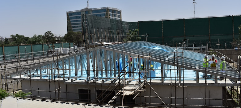 Kabul National Military Hospital Repair, just one of the many quality of life improvements taking place through the collaboration of the Train, Advise, Assist Command assessments and the construction agent, U. S. Army Corps of Engineers.