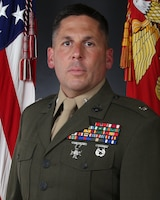 Lt. Col. Jonathan C. Glover, commanding officer of 2nd Battalion, 10th Marine Regiment, 2nd Marine Division.