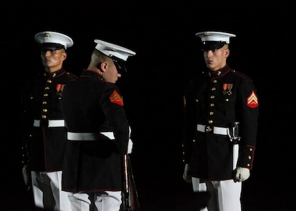 The Commandant of the Marine Corps Gen. David H. Berger was the hosting official and the Secretary of the Navy, the Honorable Richard V. Spencer, was the guest of honor for the evening.