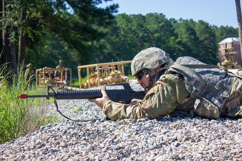 952nd Quartermaster Company Enhances Training with Perimeter Defense