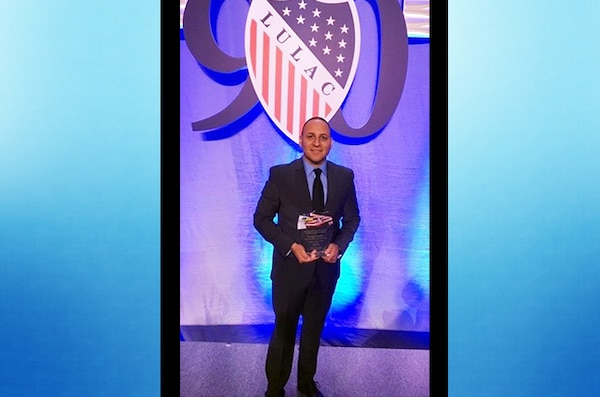 Sanabria receives award