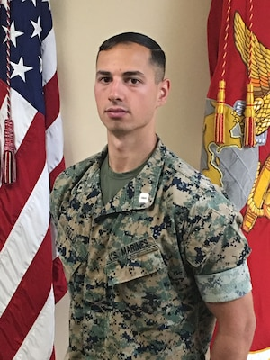 Inspector-Instructor, Mike Battery, 3rd Battalion, 14th Marines