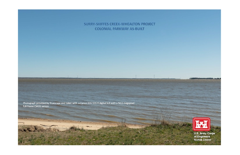 Colonial Parkway as-built image