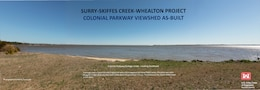 Colonial Parkway viewshed as-built image