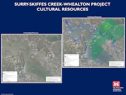 History of Skiffes Creek Project Graphic