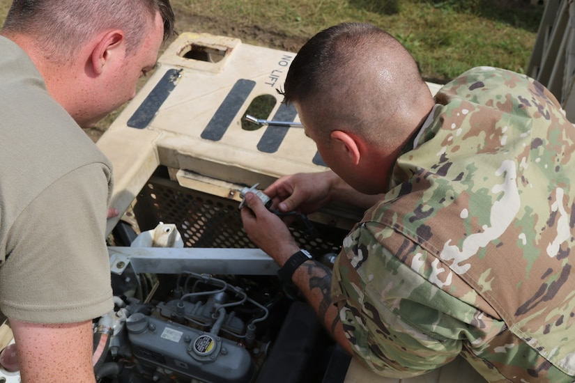 Army Reserve Mechanics Have Platinum Wrenches