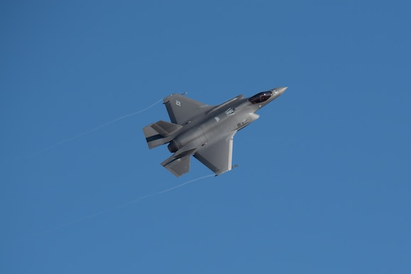F-35A Lightning II flies over Hill Air Force Base, Utah. Air Combat Command, ACC, Air Force, USAF, Airmen, combat readiness