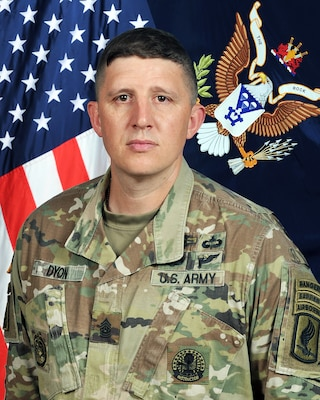 CSM Dyon is the CSM of 2nd battalion 503rd 173rd IBCT (A)