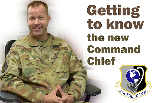 Getting to know the new AFIMSC Command Chief.