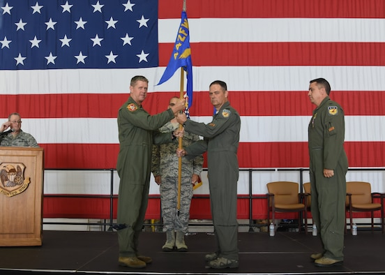 442d Operations Group change of command
