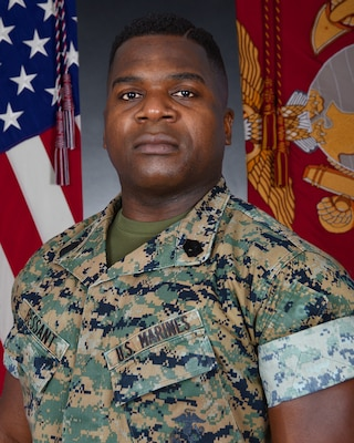 Inspector-Instructor First Sergeant, Hotel Battery, 3rd Battalion, 14th Marines