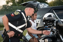 Hanscom community gathers for National Night Out