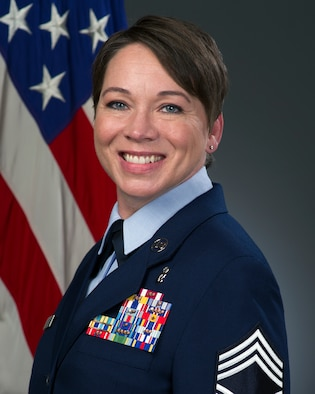 Chief Master Sgt. Kimberly Green, 60th Aerospace Medicine Squadron superintendent, shares a lesson she learned about leadership and the importance of feedback. (Courtesy Photo)