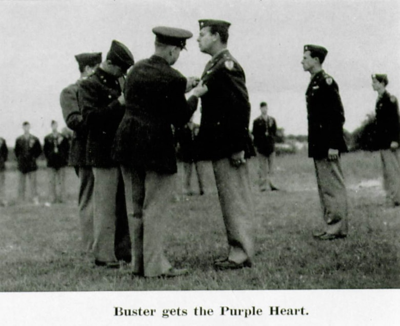 The Wing's First Purple Heart
