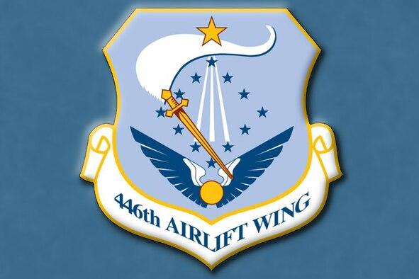 446 Airlift Wing unit crest