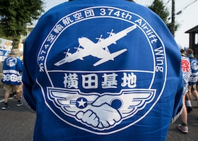 Yokota Airmen participate in Tanabata Festival