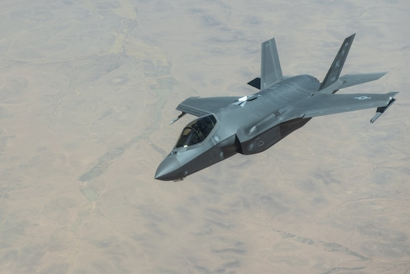 A photo of F-35A