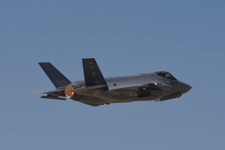 F-35A takes off