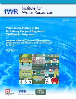 Cover for Value to the National of USACE Civil Works Program