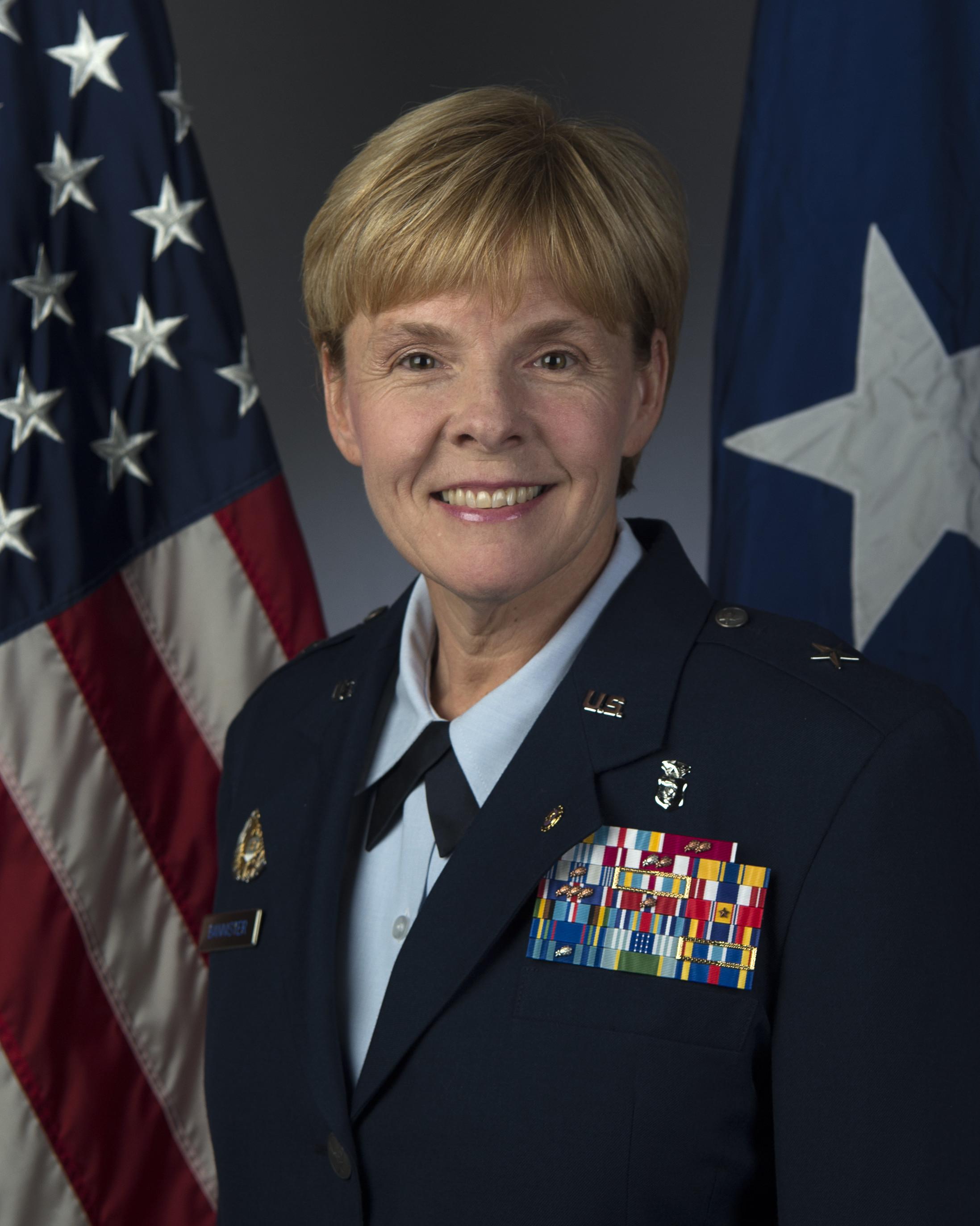 Brigadier General Dr Sharon R Bannister U S Air Force
