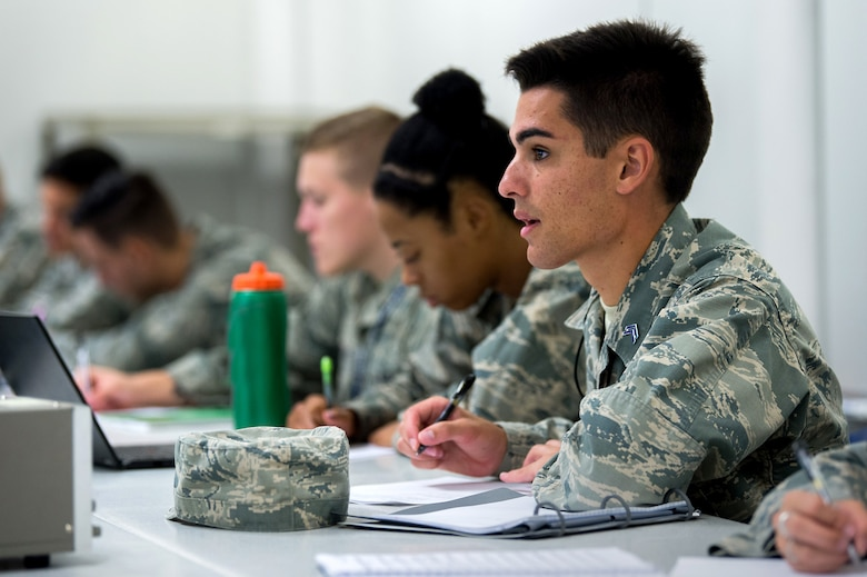 Air Force Academy officials recently announced the results of the institution's academic accreditation from the Higher Learning Commission. The final report from the HLC found the university met all of the criteria for accreditation and federal compliance requirements without comments, reaffirming its accredited status until the 2028-2029 academic year. (U.S. Air Force photo/Trevor Cokley)
