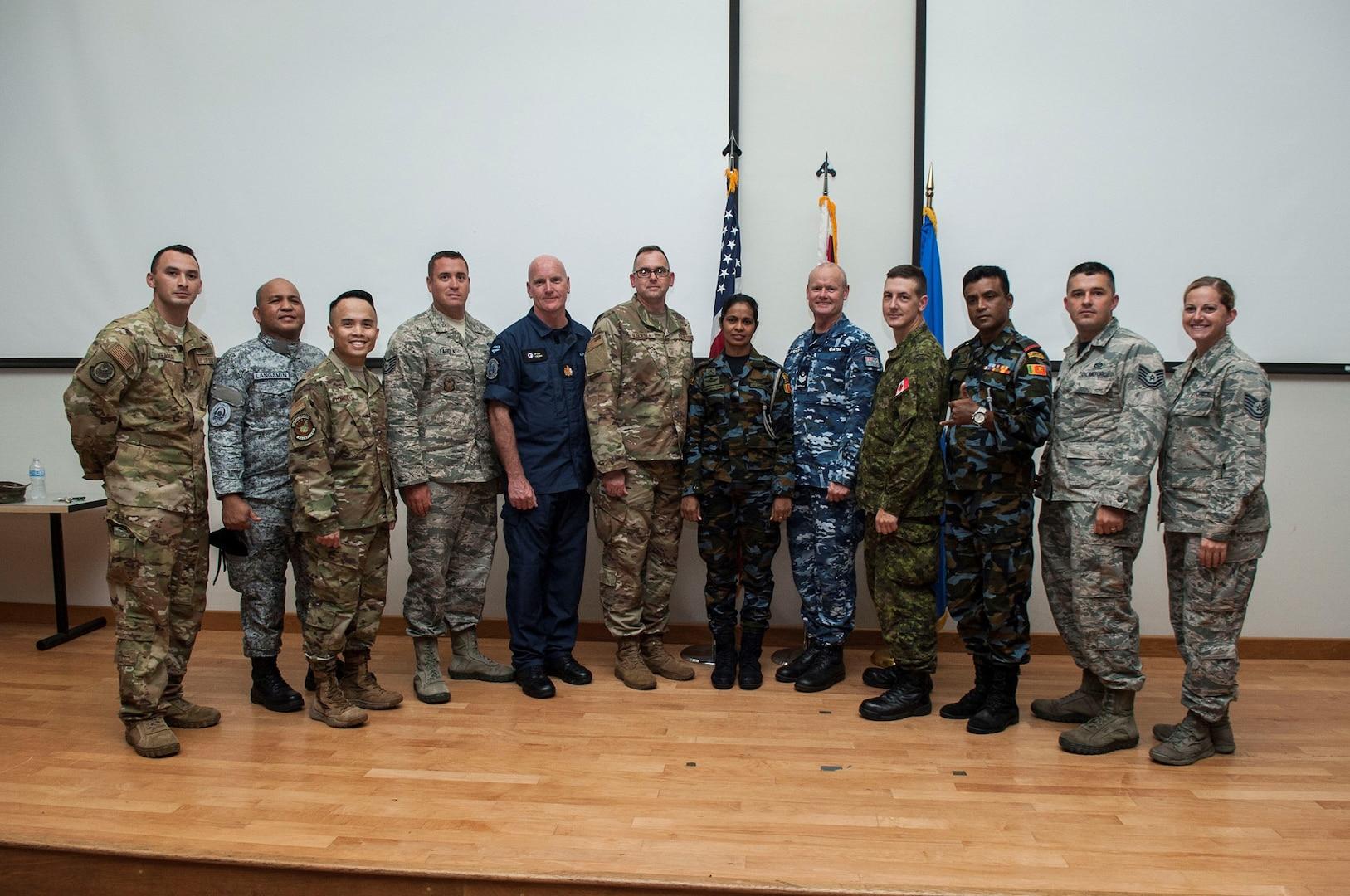 Airmen, International Partners Attend First Sergeants Symposium