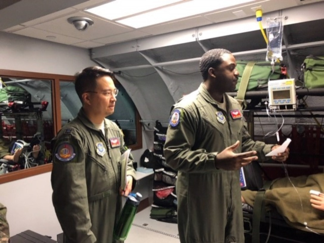 """""""LEAP has really been a retention tool and allowed me to use my language and cultural capabilities in the Air Force,"""" Maj Yim said."""