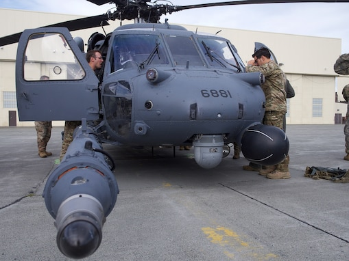 210th Rescue Squadron Receives First Operational Loss Replacement Pave Hawk