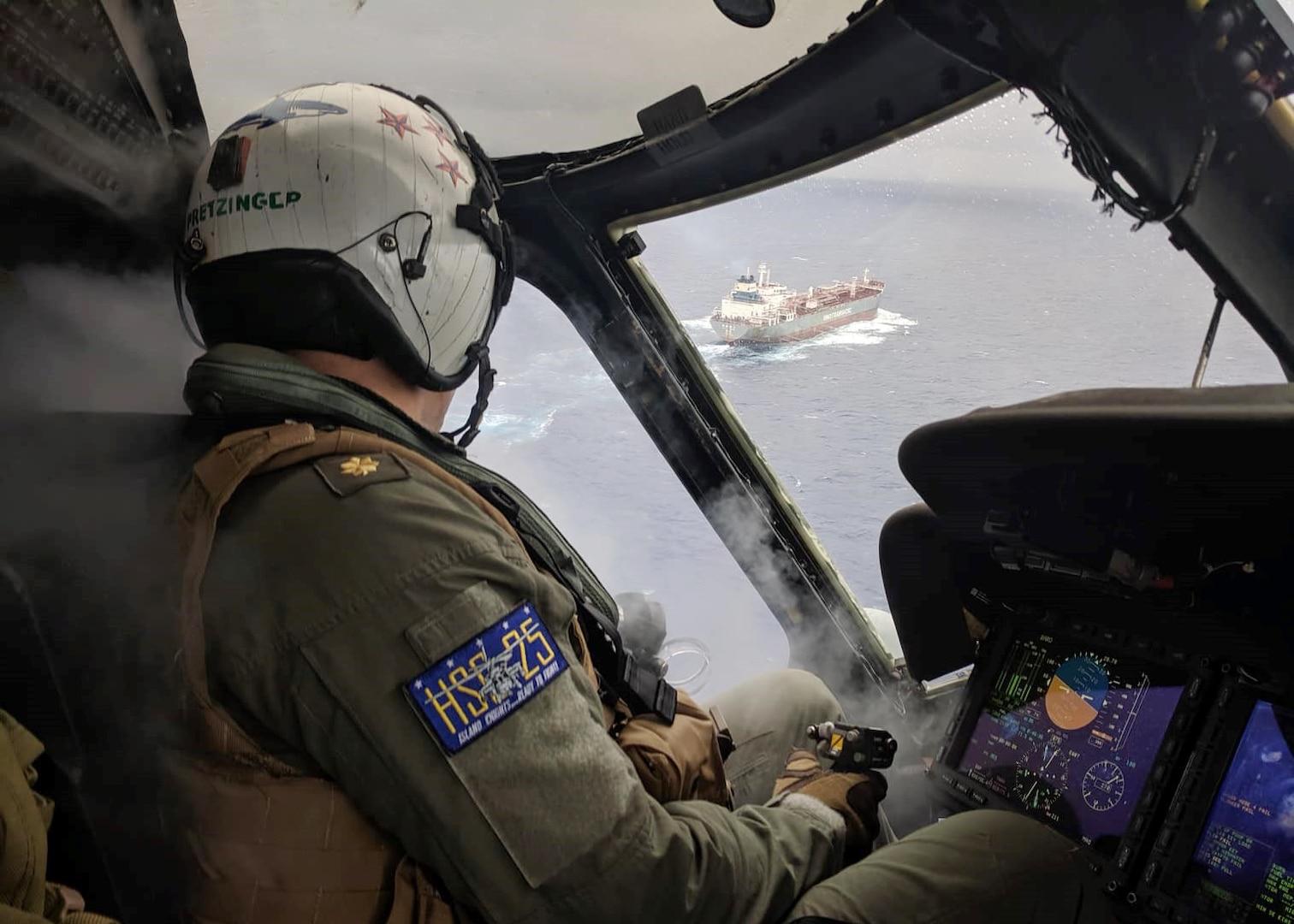 HSC-25 Provides Urgent MEDEVAC of Chinese Mariner at Sea