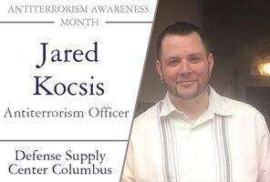 Antiterrorism Awareness Officer Jared Kocsis
