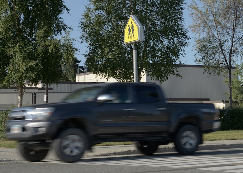 With the school year approaching, Joint Base Elmendorf-Richardson, Alaska, personnel should be mindful of pedestrians and school zones. Drivers must be vigilant and use situational awareness especially when children are traveling to school.